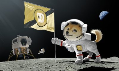 Dogecoin goes to the moon