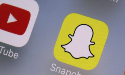 YouTube and Snapchat